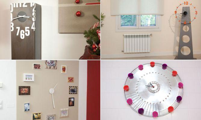 Ideas para hacer un reloj hogarmania - Manualidades relojes de pared ...