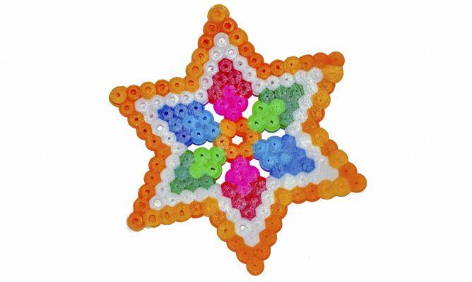 Estrella con Hama Beads