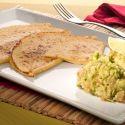 Quesadillas con guacamole