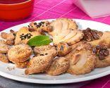Receta de galletas de nueces y almendras