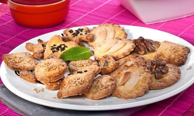 receta de receta de galletas de nueces y almendras bruno oteiza