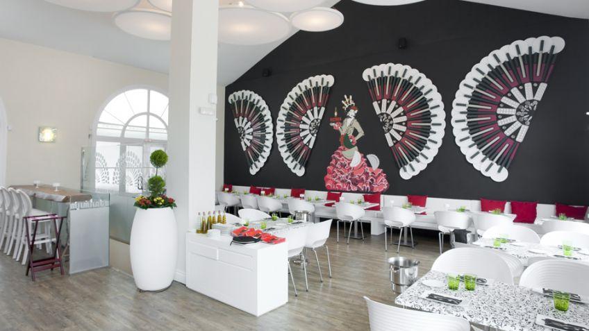 Decoración de restaurante moderno estilo andaluz - Hogarmania