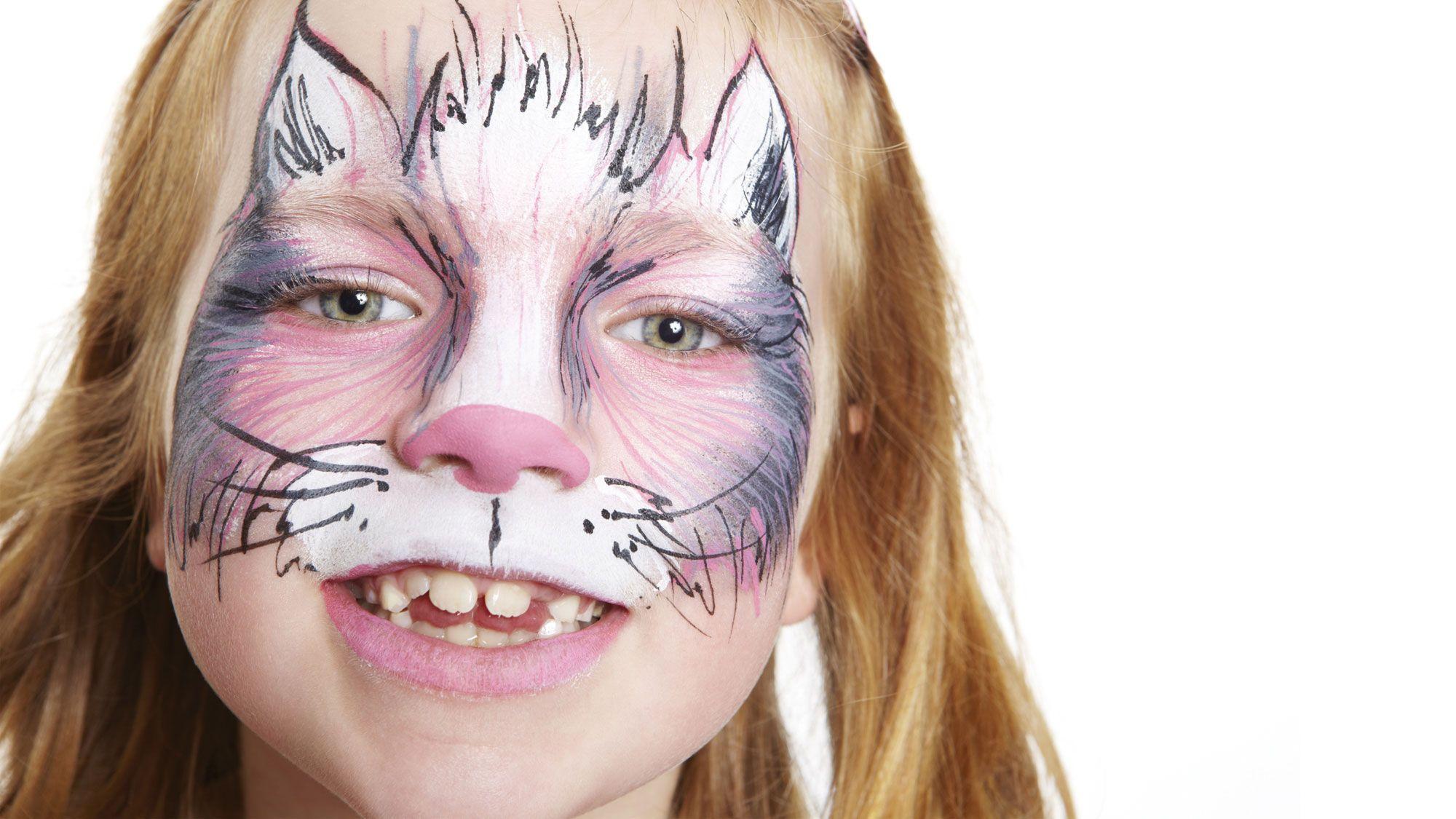maquillaje hallloween gato
