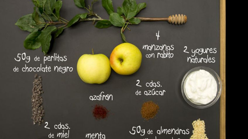 Manzanas en vaso - Ingredientes
