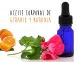 aceite corporal geranio y naranja