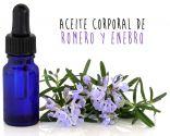 aceite corporal de romero y enebro