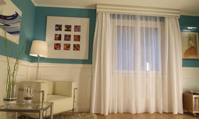 Hacer una galer a para tapar las barras de cortina bricoman a - Cajon de persiana interior ...