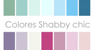 Colores shabby chic
