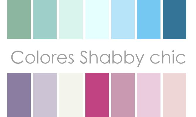 colores shabby chic hogarmania