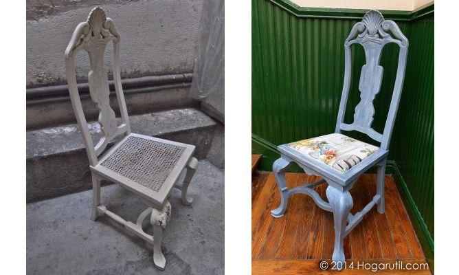 Trabajos de la comunidad de decoraci n sobre c mo - Restaurar una silla de madera ...