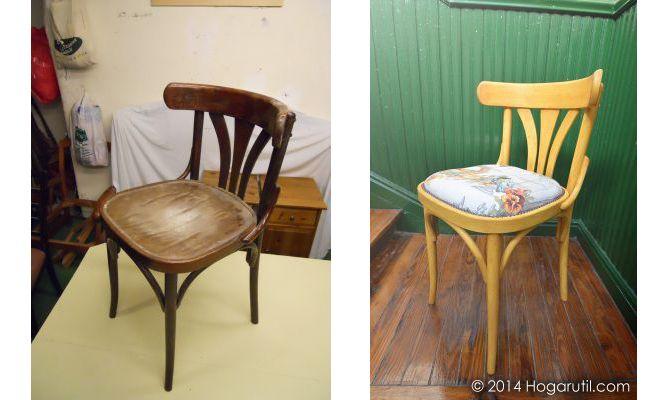 Trabajos de la comunidad de decoraci n sobre c mo - Restaurar sillas antiguas ...