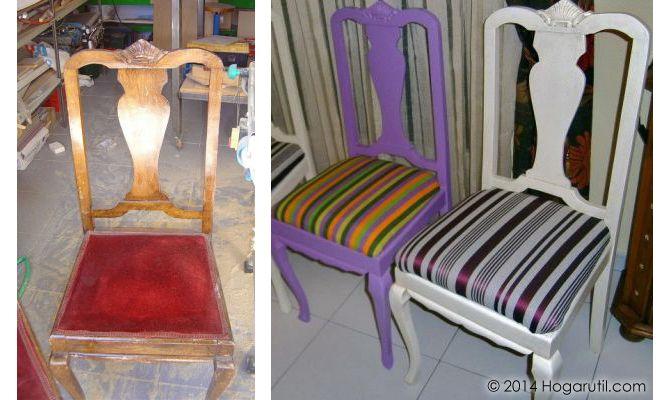 Restaurar sillas de Frank