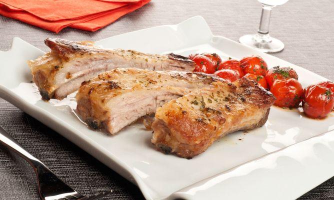 receta de costillas de cerdo asadas bruno oteiza