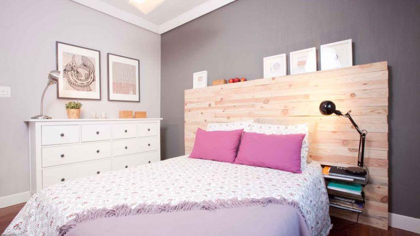 Dormitorios Matrimonio Rustico Moderno : Dormitorio moderno y funcional en color gris decogarden