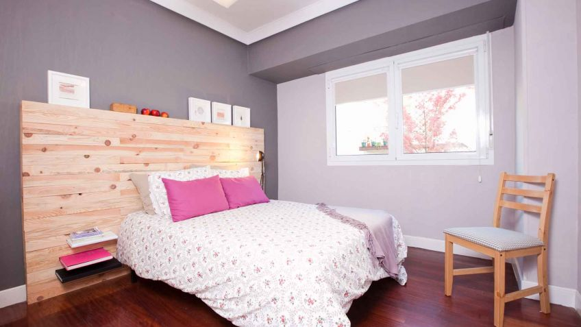 Dormitorio moderno y funcional en color gris   decogarden