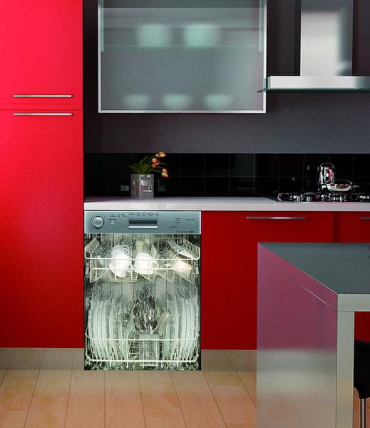 decoración original de electrodomésticos - lavavajillas