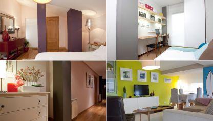 La regla 60 30 10 para combinar colores hogarmania - Como decorar una columna en el salon ...