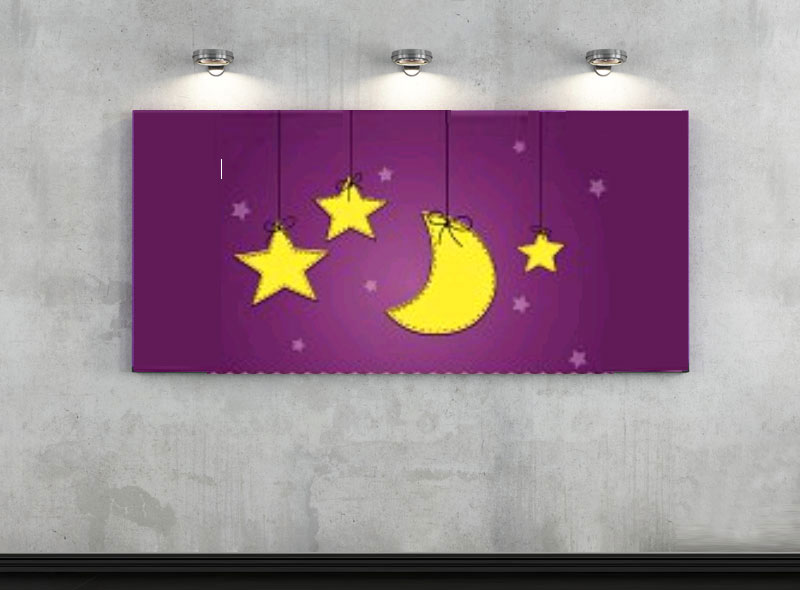 iluminación habitación infantil -luz focal