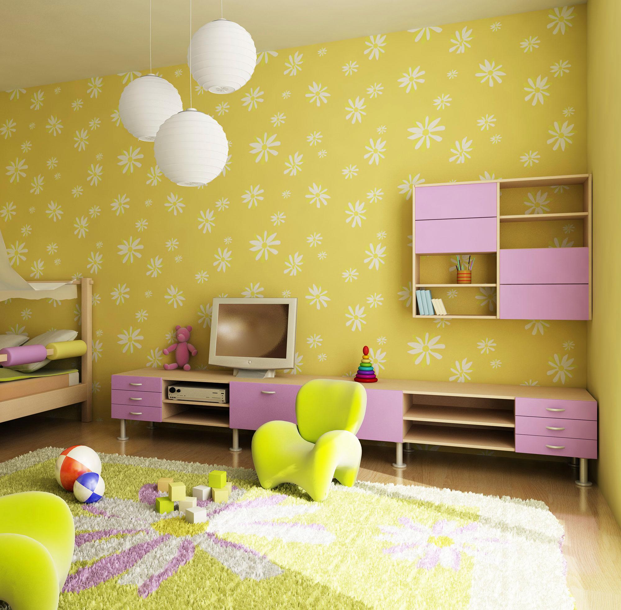 Iluminaci n en habitaciones infantiles hogarmania - Lamparas para habitaciones infantiles ...