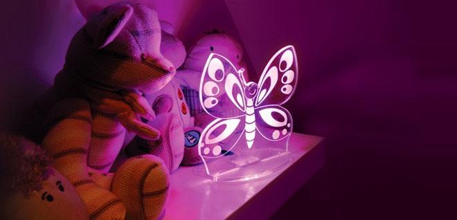 iluminación habitación infantil - luz LED noche