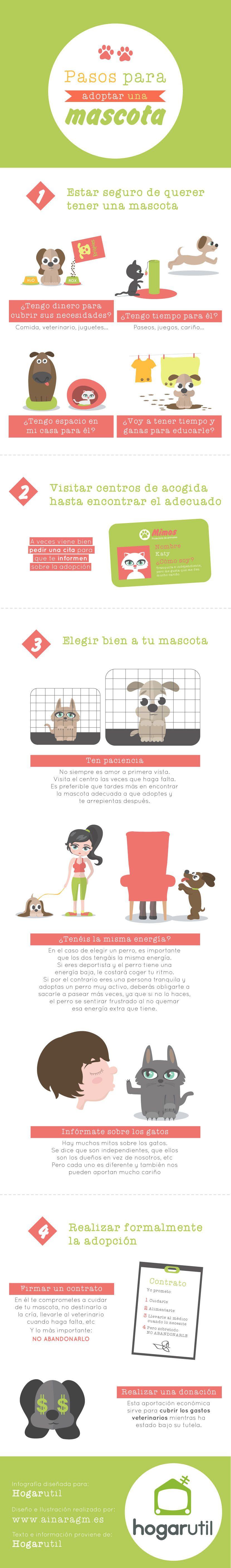 infografía adopción mascotas
