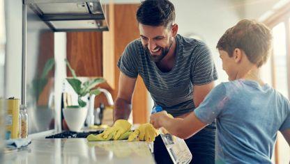 C mo mantener la casa limpia hogarmania - Limpiar la casa ...