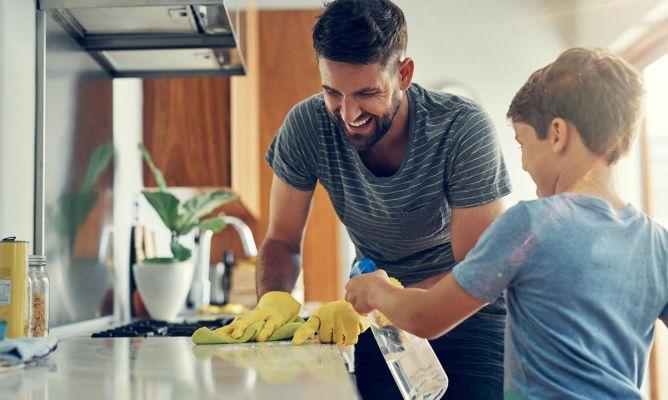 Cómo limpiar la casa - Hogarmania