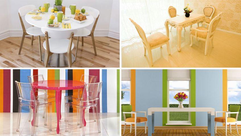 4 estilos de muebles de comedor - Hogarmania