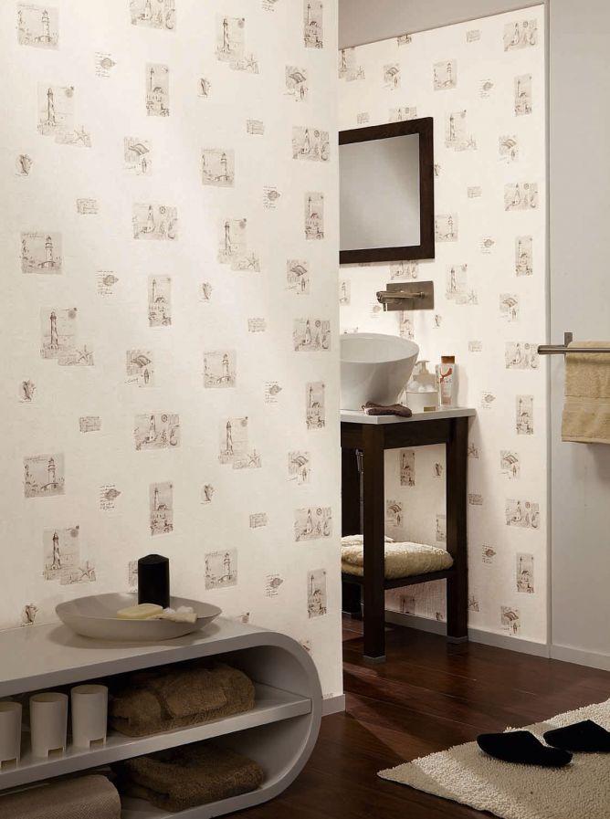 Papel pintado para cocinas y ba os hogarmania Papeles vinilicos para dormitorios