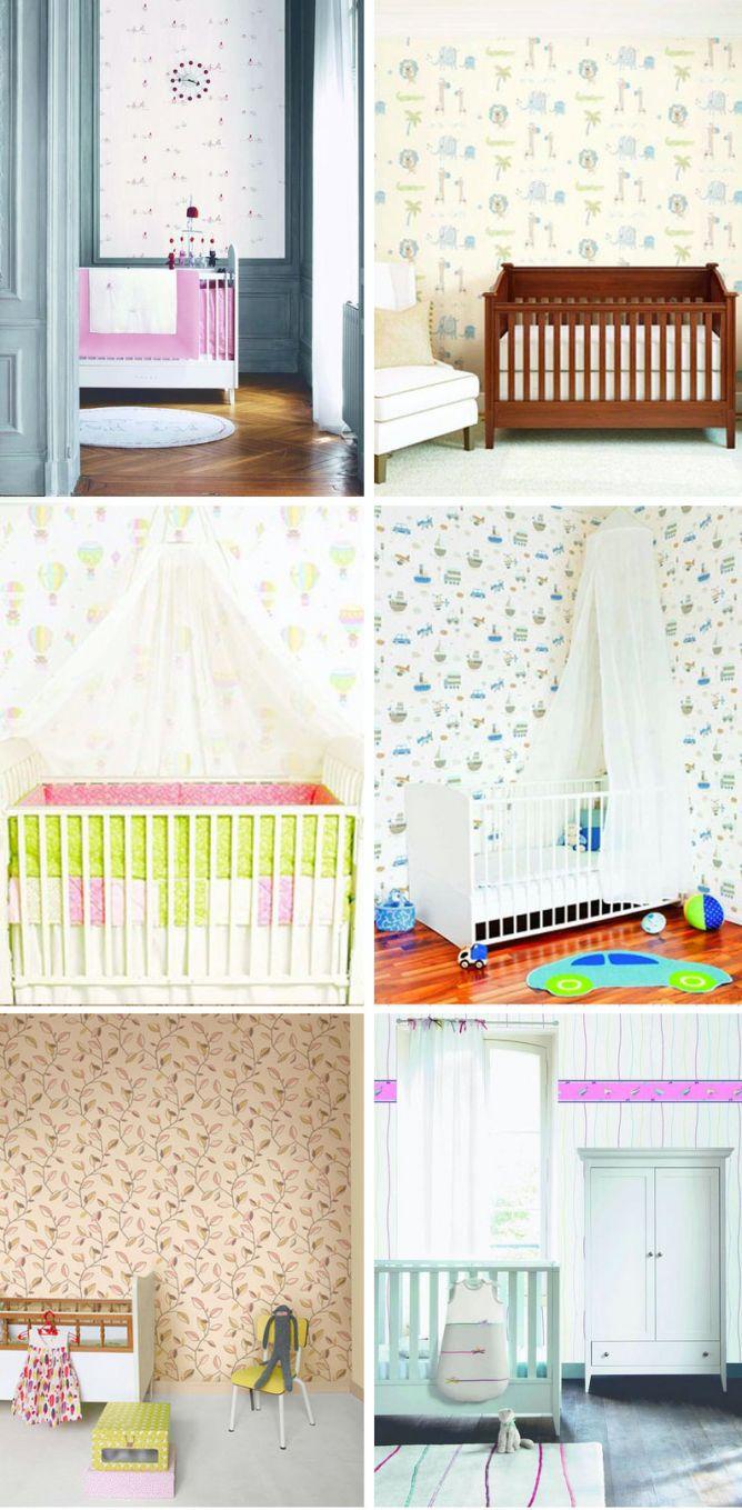 Papel pintado para paredes de habitaciones infantiles - Papel pintado habitaciones ...