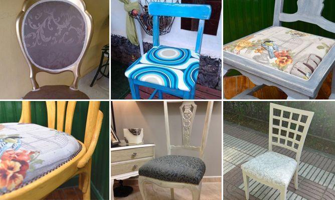 Trabajos de la comunidad de decoraci n sobre c mo - Como tapizar sillas de madera ...