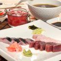 Aperitivo de sashimi