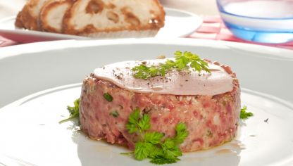 Steak tartare trufado