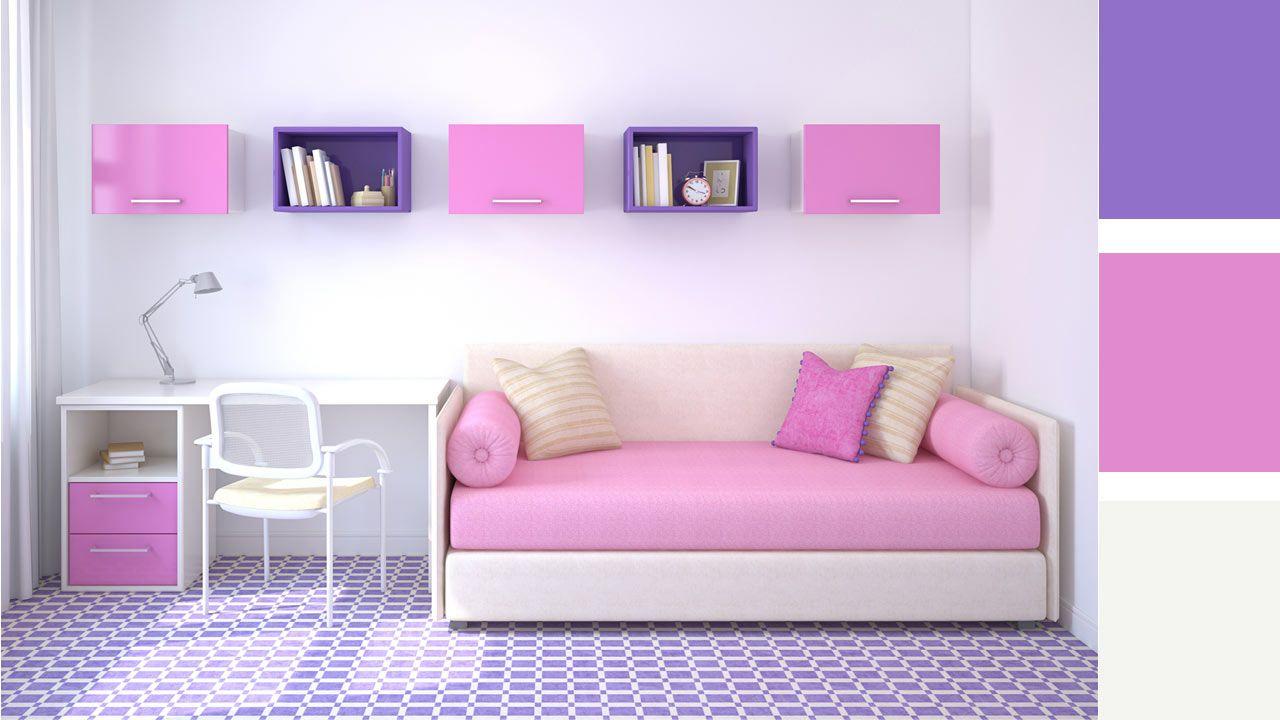 4 opciones para combinar colores en una habitaci n juvenil for Como combinar colores de pintura