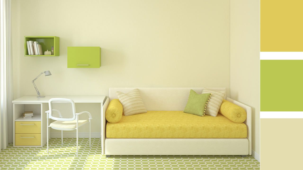 4 opciones para combinar colores en una habitaci n juvenil - Habitacion juvenil chico ...