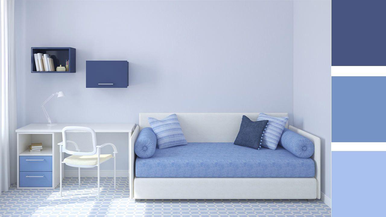 4 opciones para combinar colores en una habitaci n juvenil - Colores para pintar una habitacion juvenil ...