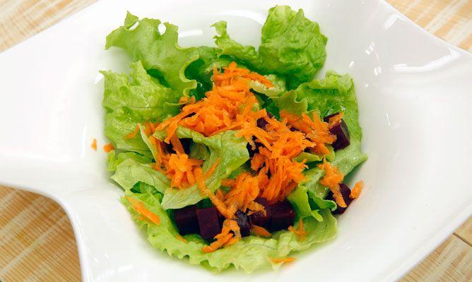 Receta de ensalada de remolacha y zanahoria karlos argui ano - Ensalada de apio y zanahoria ...
