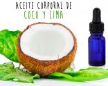 aceite de coco y lima