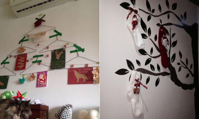 Rboles de navidad originales para espacios peque os - Arboles de navidad pequenos ...