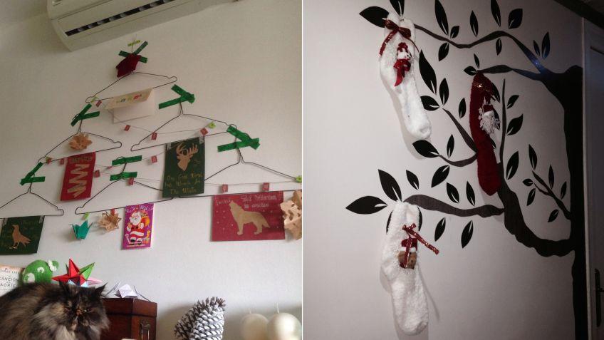 rboles de navidad originales para espacios pequeos