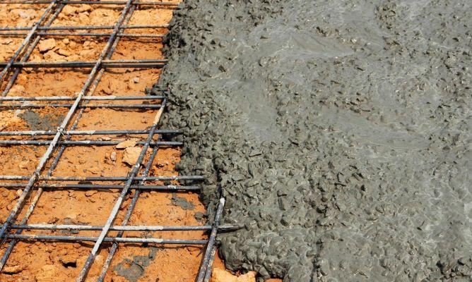 Hormig n caracter sticas y usos hogarmania for Losas de hormigon para jardines
