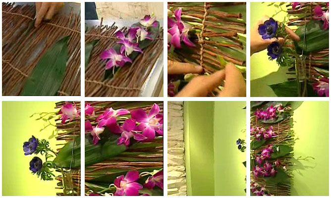 Composición Floral Para Pared Decogarden