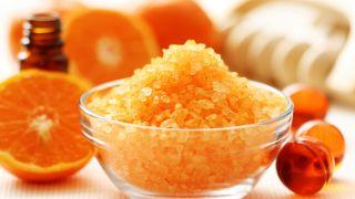 Exfoliante de mandarina y mirra