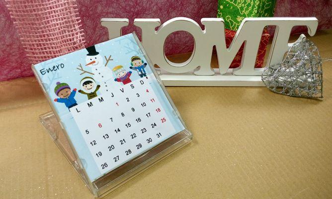 Calendario de mesa 2015 hogarmania - Calendario de mesa ...