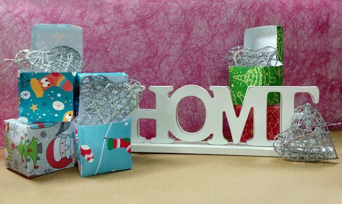 Cajas para regalos peque os de navidad hogarmania - Regalos navidad padres ...
