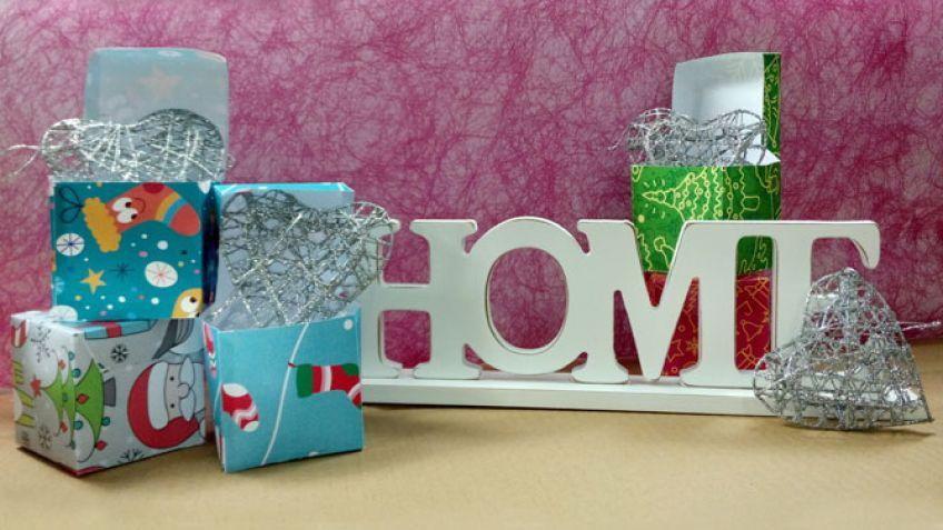 Cajas para regalos pequeños de Navidad - Hogarmania