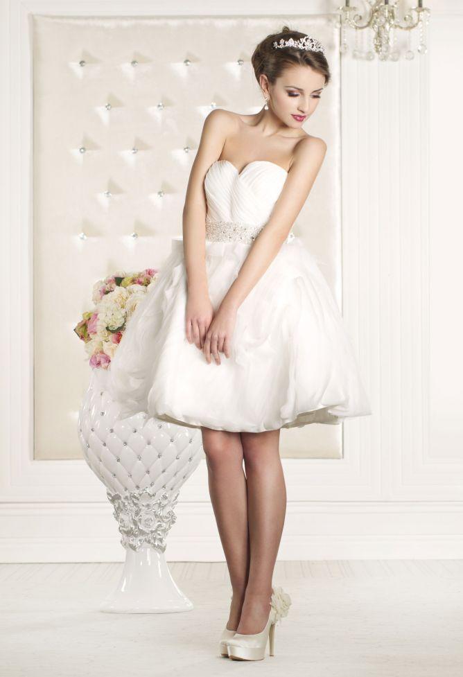 vestidos cortos de novia - hogarmania