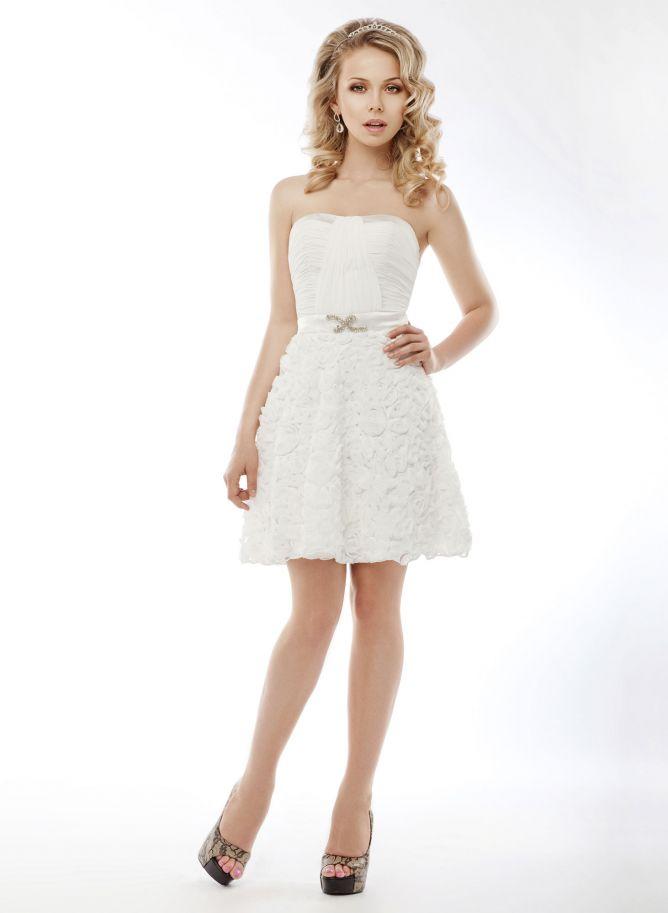 vestidos de novia cortos 2