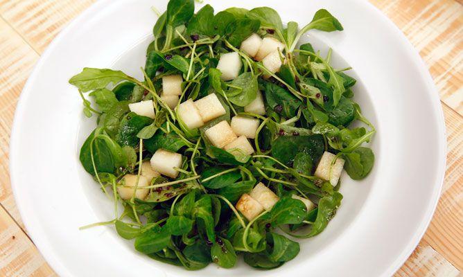 Receta de Ensalada verde con melón - Karlos Arguiñano