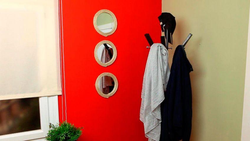 Enmarcar un espejo con cuerda - Bricomanía